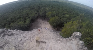 Coba Mexico Day Trip View from Top