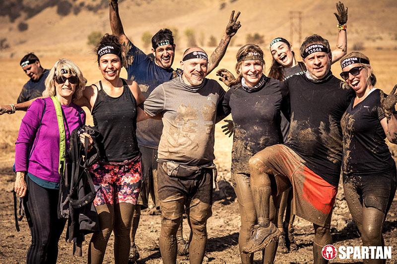 Group Spartan Race Photo
