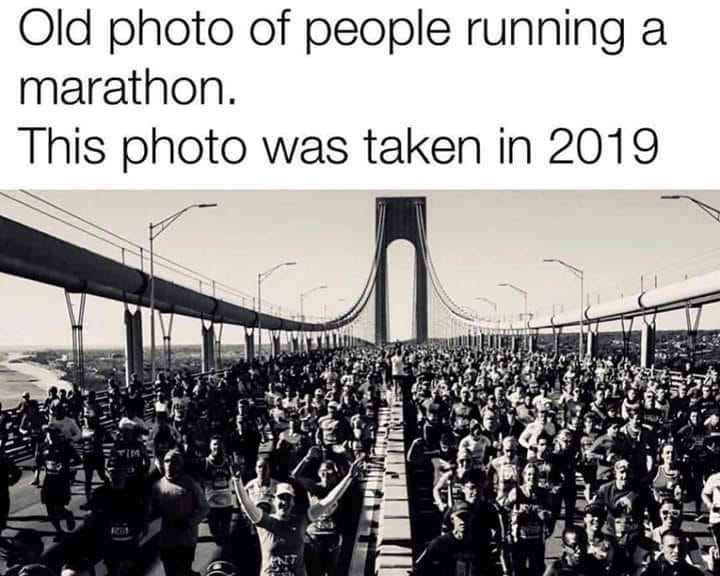 April 2020 Running Meme