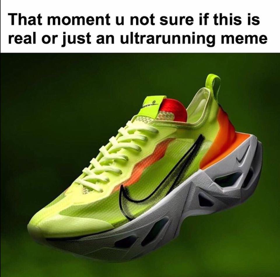 running shoe meme 2020