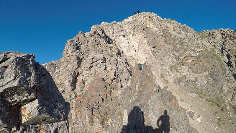 Kelso Ridge Trail Class 3 scramble