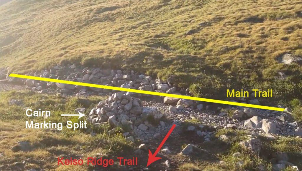 Kelso Ridge Trail Class 1 Split