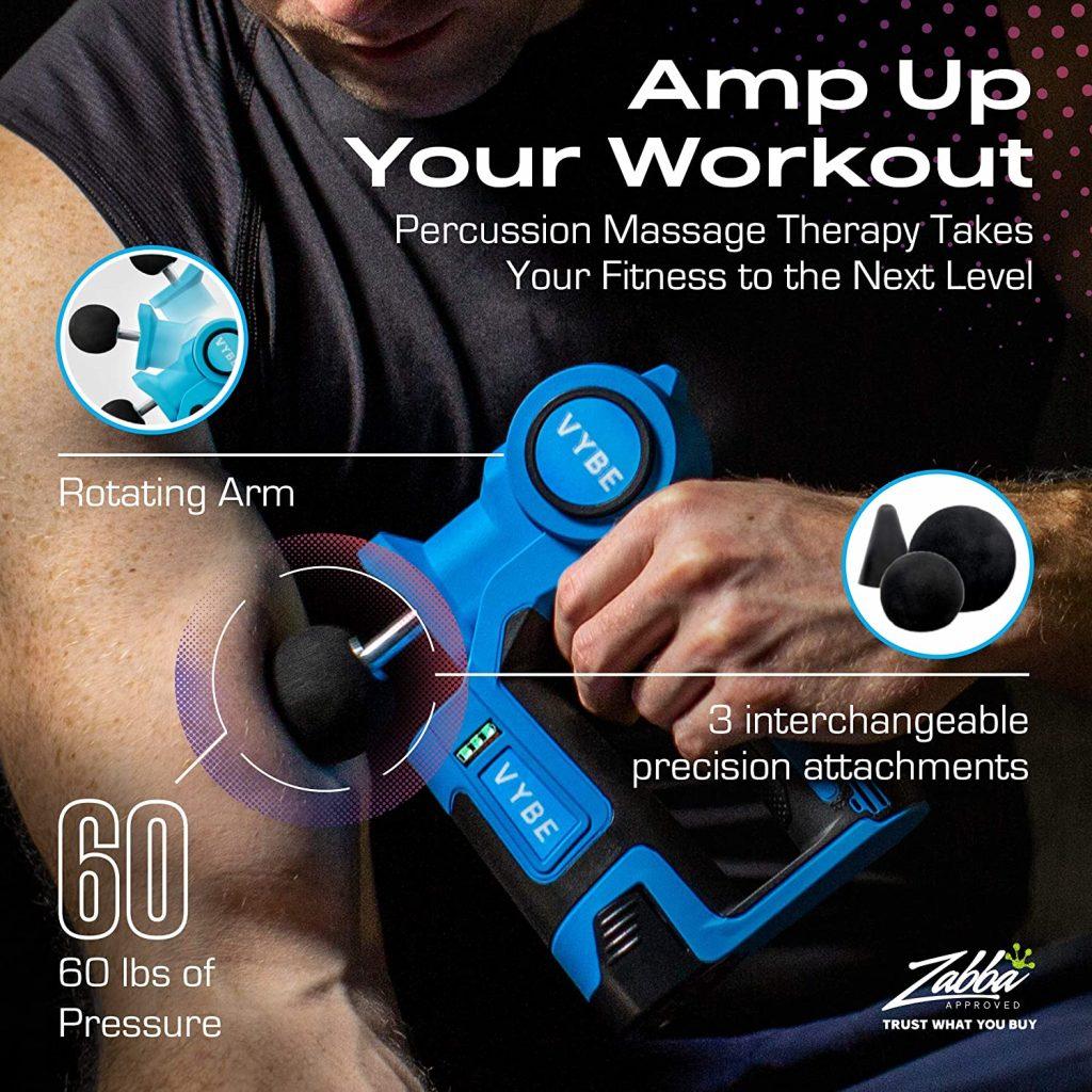 Vybe Percussion Massage Gun - best on amazon
