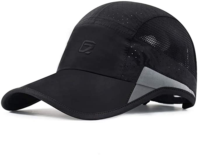 GADIEMKENSD Unstructured Reflective Breathable Sports Cap