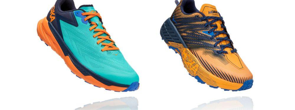 Hoka Zinal vs Speedgoat - Trail Running Shoe Review - Hoka One One 1