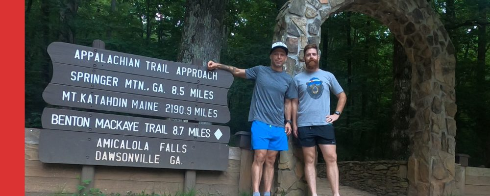The Appalachian Approach Trail - Amicalola Falls to Springer Mountain GA - Hiking Trail Running