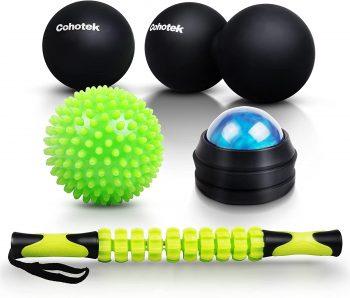 Cohotek Massage Balls Roller Set Christmas gifts for ultra runners