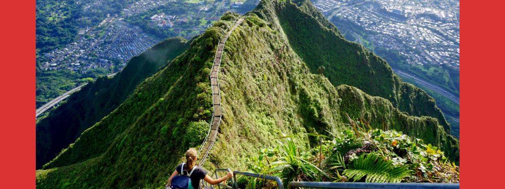 Hawaii is Tearing Down Oahu's Haiku Stairs - the Stairway to Heaven