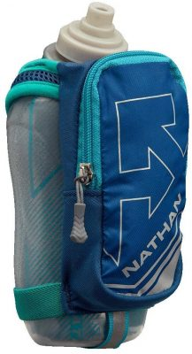 Nathan SpeedDraw Plus Insulated Flask, Handheld Running Water Bottle