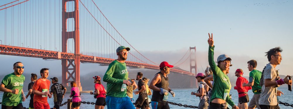 San Francisco Marathon Runners Will Need to Wear Masks - For Part of the Course